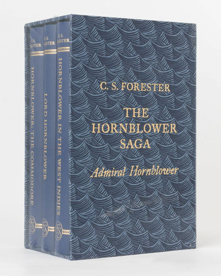 The Hornblower Saga. Admiral Hornblower [the collective title of the third and final Folio Society boxed set, comprising 'Hornblower, the Commodore', 'Lord Hornblower', and 'Hornblower in the West Indies']. C. S. FORESTER.