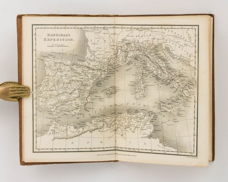 Maps and Plans illustrative of Livy, containing Hannibal's Expedition, Spain, Cisalpine Gaul, Central Italy ... Plan of Rome, Battle at the Caudine Forks ... &c. &c. Atlas.