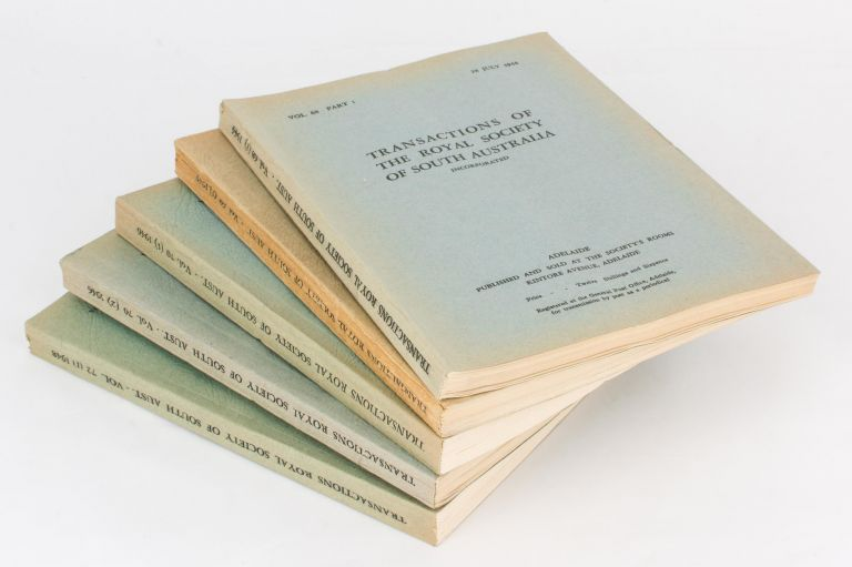 The complete set of the published Scientific Reports of the 1939 Simpson Desert Expedition is offered as one lot. Simpson Desert Expedition.
