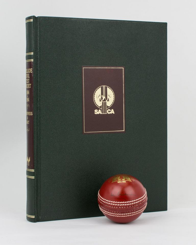 Adelaide Oval Test Cricket, 1884-1984. Don BRADMAN, Bernard WHIMPRESS, Nigel HART.
