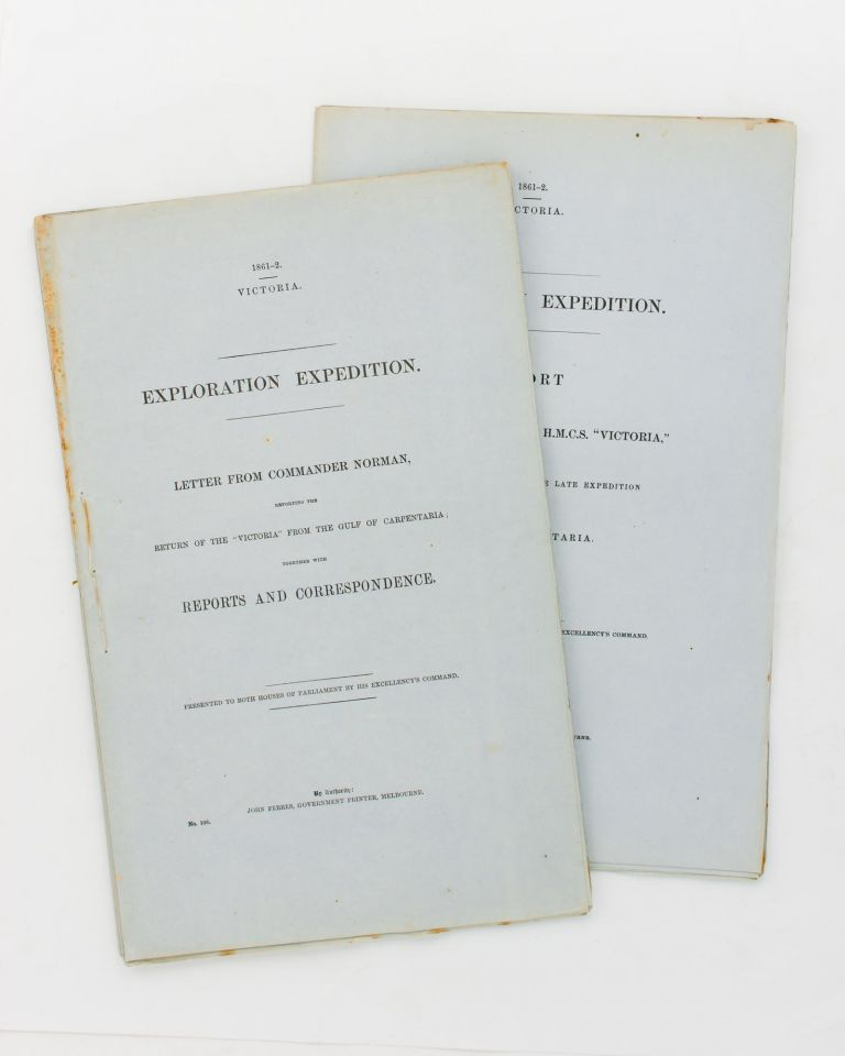 Exploration Expedition Letter From Commander Norman Reporting The