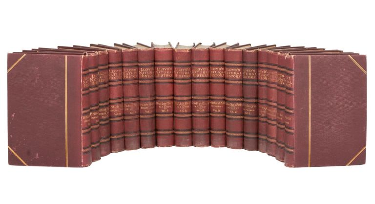 Lloyd's Natural History. [Sixteen volumes, the complete set]. R. BOWDLER SHARPE.