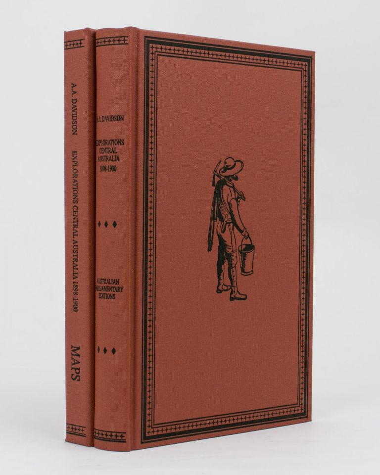 Journal of Explorations in Central Australia, by The Central Australian Exploration Syndicate .. 1898 to 1900. Allan A. DAVIDSON.
