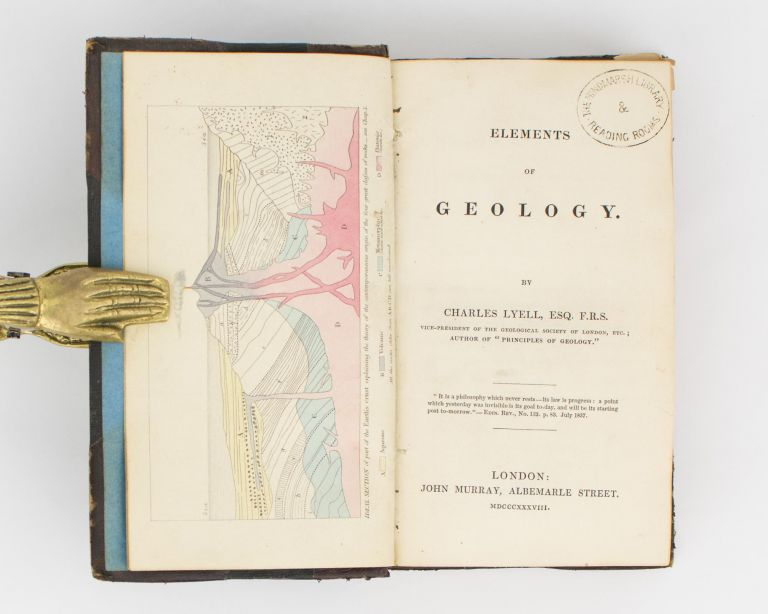 Elements of Geology. Charles LYELL.