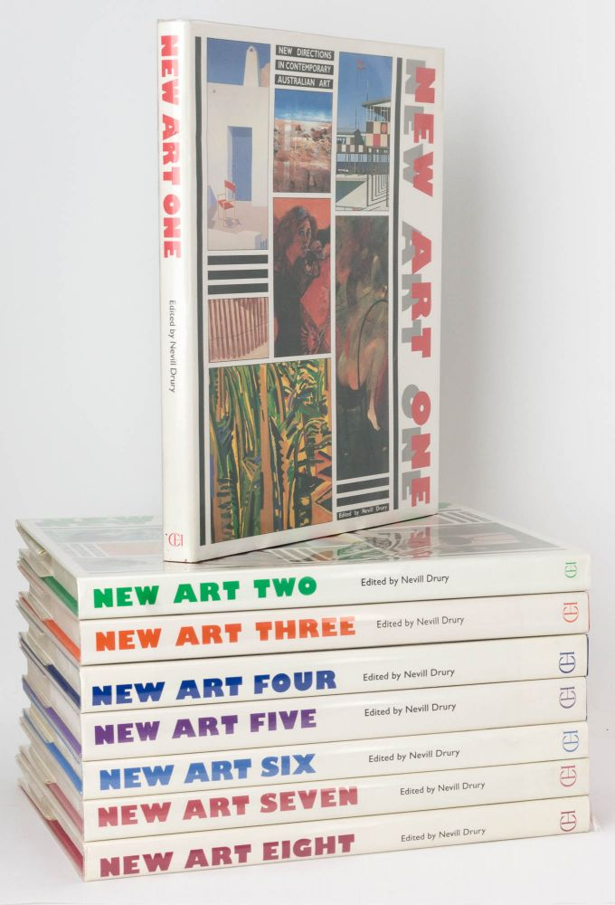 New Art One. New Directions in Contemporary Australian Art. [Together with] New Art Two ... [to] New Art Eight. Australian Art.