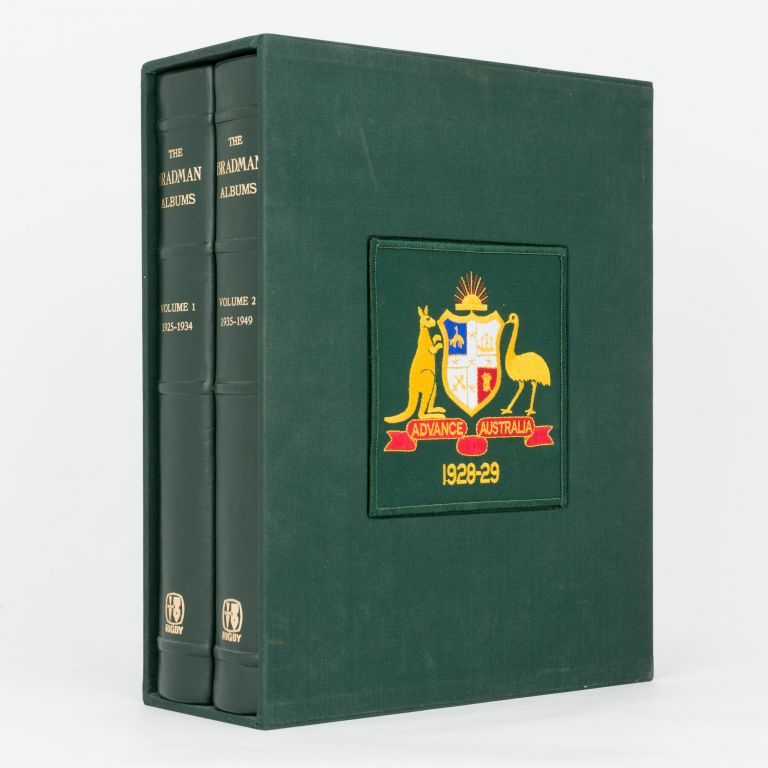 The Bradman Albums. Selections from Sir Donald Bradman's Official Collection. Volume 1: 1925-1934... Volume 2: 1935-1949. Cricket, Sir Donald BRADMAN.