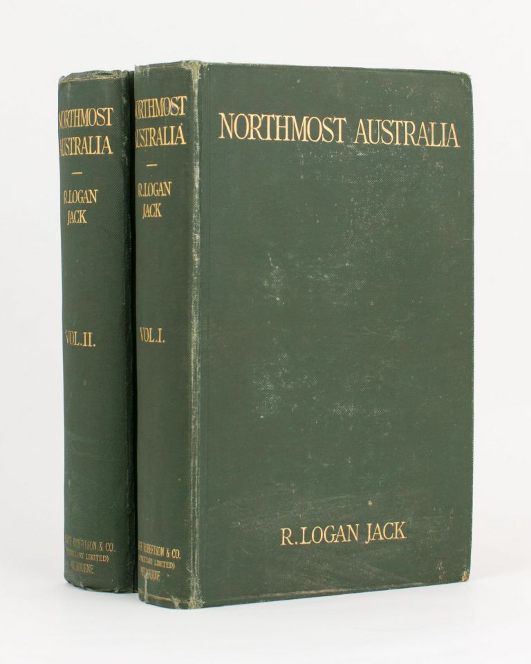 Northmost Australia. Three Centuries of Exploration, Discovery, and Adventure in and around Cape York Peninsula, Queensland. With a Study of the Narratives of all Explorers by Sea and Land in the Light of Modern Charting, many original or hitherto unpublished Documents. Robert Logan JACK.