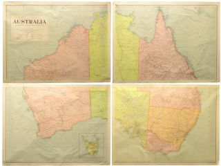 Australia. Prepared by Authority of the Honourable the Minister of State for the Interior. Scale...