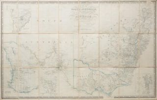 Map of South Australia, New South Wales, Van Diemens [sic] Land, and Settled parts of Australia....
