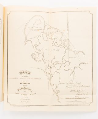 Boundary of New South South Wales and South Australia.. Report on the Determination of the...