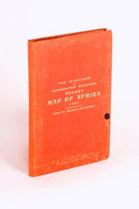 The Investors' and Newspaper Readers' Pocket Map of Africa, 1901 [cover title]. Africa, G. H....