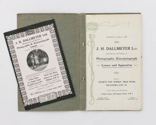 Dallmeyer Lenses and Apparatus [cover title]