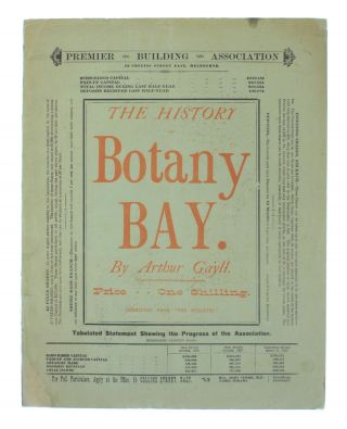 The History of Botany Bay.. Reprinted from 'The Bulletin' [cover title]. Arthur GAYLL