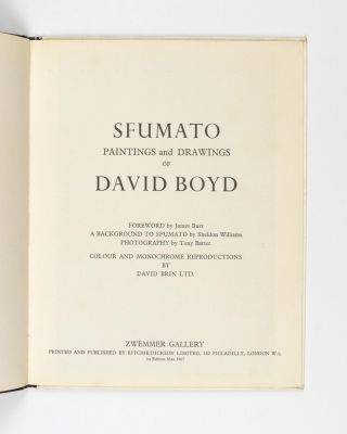 Sfumato. Paintings and Drawings of David Boyd