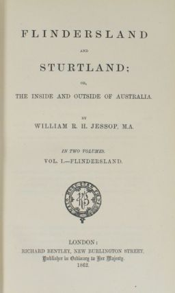 Flindersland and Sturtland; or, The Inside and Outside of Australia