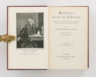 Boswell's Life of Johnson. Together with Boswell's Journey of a Tour to the Hebrides and Johnson's Diary of a Journey into North Wales. Edited by George Birkbeck Hill. Revised and Enlarged Edition by L.F. Powell. In Six Volumes. [Together with] The Letters of Samuel Johnson, with Mrs Thrale's Genuine Letters to Him. Collected and edited by R.W. Chapman [in three volumes]
