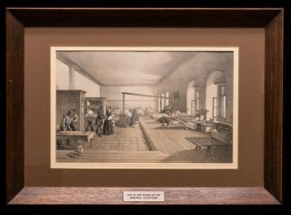 'One of the Wards in the Hospital at Scutari'. Florence NIGHTINGALE, William SIMPSON
