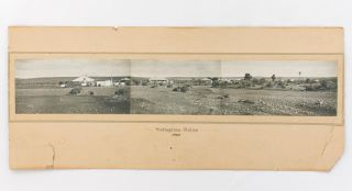 A 1935 panorama of Yudnapinna Station, situated approximately 80km north-west of Port Augusta....