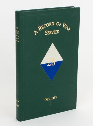 The 28th. A Record of War Service with the Australian Imperial Force, 1915-1919. Volume 1. Egypt, Gallipoli, Lemnos Island, Sinai Peninsula [all published]. 28th Battalion, Colonel Herbert Brayley COLLETT.