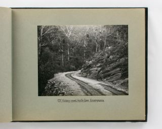 An album of photographs relating to the town of Stawell, with numerous views of the Grampians