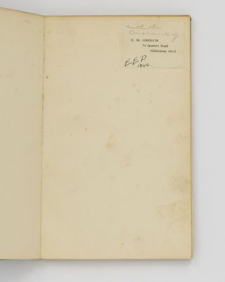 The Skeeles News Letter. For Friends in Australia and Elsewhere [sub-title from Number 2]....