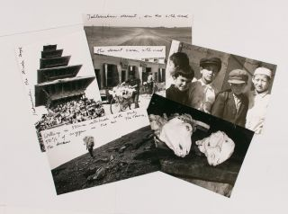 A small archive of 17 photographs and accompanying correspondence by the contemporary Austrian...