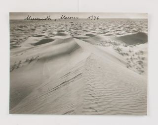 A small archive of 17 photographs and accompanying correspondence by the contemporary Austrian photographer Renate Graf