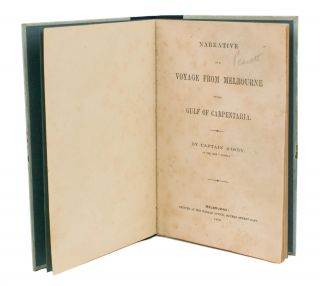 Narrative of a Voyage from Melbourne to the Gulf of Carpentaria. Burke, Wills