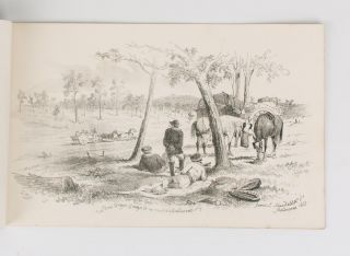 The Diggers & Diggings of Victoria as they are in 1855. Drawn on Stone by S.T. Gill