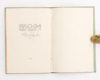 The Bookplate in Australia. Its Inspiration and Development