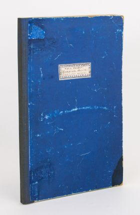 Morning. Owned and edited by Paris Nesbit QC. Volume 1, Number 1, 29 August 1900 to Number 18, 26 December 1900. [Bound with] Century (with which is incorporated 'Morning'), Volume 1, Number 19, 2 January 1901 to Volume 2, Number 32, 5 June 1901