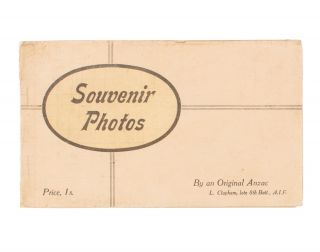 Souvenir Photos of Egypt, Malta and Durban. Taken by L. Clapham, late of the 8th Battalion, AIF...