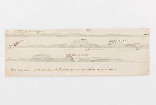 A series of eight coastal profiles, mainly of the Turks and Caicos Islands (an Atlantic archipelago approximately 900 kilometres south-east of Florida), nearby Mayaguana, Cuba and Jamaica, drawn in July, August and October 1790. Some (but probably not all) of them were drawn by Lieutenant Daniel Woodriff