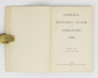 Glenelg Historic Guide and Directory. 1883