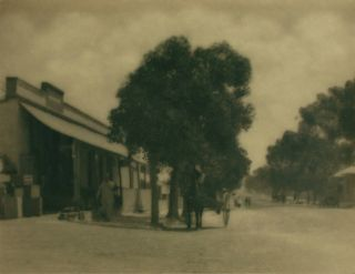 'Truro' (South Australia). A vintage gelatin silver photograph (float-mounted, image size 145 ×...