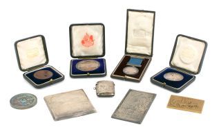 Eight medals awarded to John Kauffmann for British and Australian photographic competitions between 1900 and 1919. Provenance: from the family of John Kauffmann, by descent (sold by Sotheby's Australia, 24 July 1988); private collection, Sydney