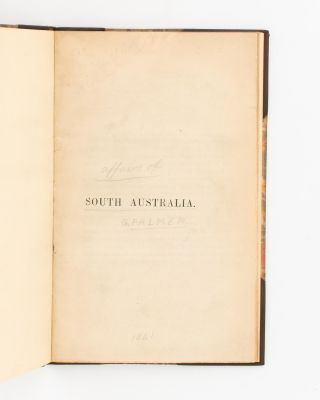 South Australia ['The Select Committee upon the affairs of South Australia' (first line of text)]