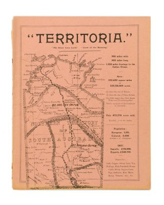 'Territoria. The Great Lone Land. Land of the Dawning' [cover title]. David LINDSAY, Alexis L....