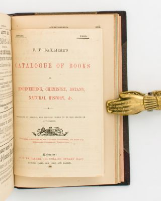 Bailliere's South Australian Gazetteer and Road Guide. Containing the Most Recent and Accurate Information as to Every Place in the Colony