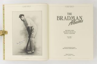 The Bradman Albums. Selections from Sir Donald Bradman's Official Collection. Volume 1: 1925-1934 [and] Volume 2: 1935-1949