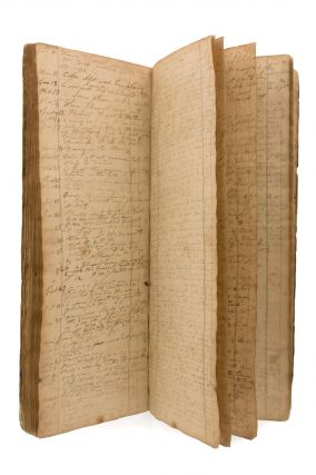 The life of an African slave in eighteenth century Connecticut, contained in a ledger, apparently...