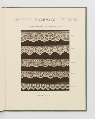 A Few Examples of Inexpensive Blinds and Laces [Inside & Outside Window Blinds (cover title)]