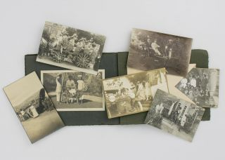 An album of photographs of a skiing holiday at the Cresta Palace Hotel, Celerina (near St Moritz), Switzerland, in the winter of 1912-1913