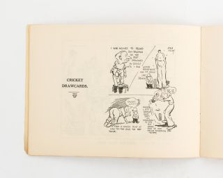 Cricket Sketches and Short Stories by Arthur Mailey, the Australian Googly Bowler, 1932-33