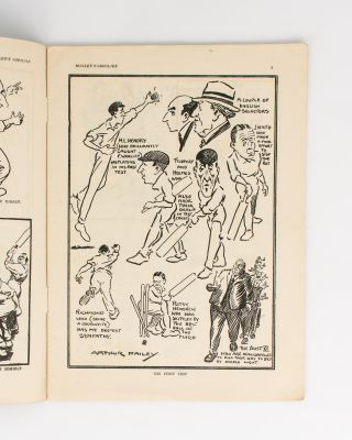 Mailey's Googlies. A Series of Sketches and Caricatures of English County and Test Match Cricket, by the Famous Australian Googly Bowler ..