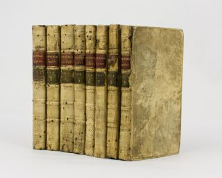 The Life and Opinions of Tristram Shandy, Gentleman [eight volumes of the nine-volume set, with...