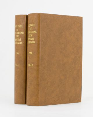 Journals of Expeditions of Discovery into Central Australia, and overland from Adelaide to King...