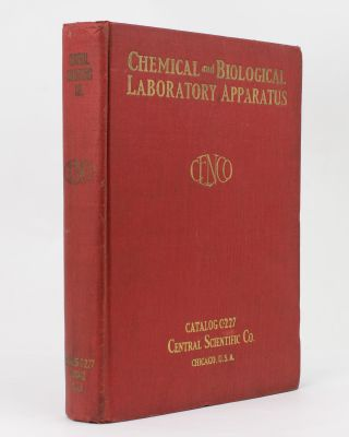 Laboratory Apparatus for Chemical, Industrial, Metallurgical, Bacteriological, Biological, Board of Health, Clinical, Hospital and Commercial Testing Laboratories. Catalog C. No. 227-3. Trade Catalogue.