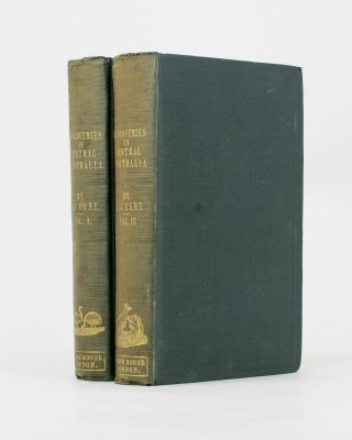 Journals of Expeditions of Discovery into Central Australia, and Overland from Adelaide to King George's Sound in the Years 1840-1; sent by the Colonists of South Australia, with the Sanction and Support of the Government: including an Account of the Manners and Customs of the Aborigines and the State of their Relations with Europeans