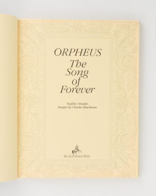 Orpheus. The Song of Forever